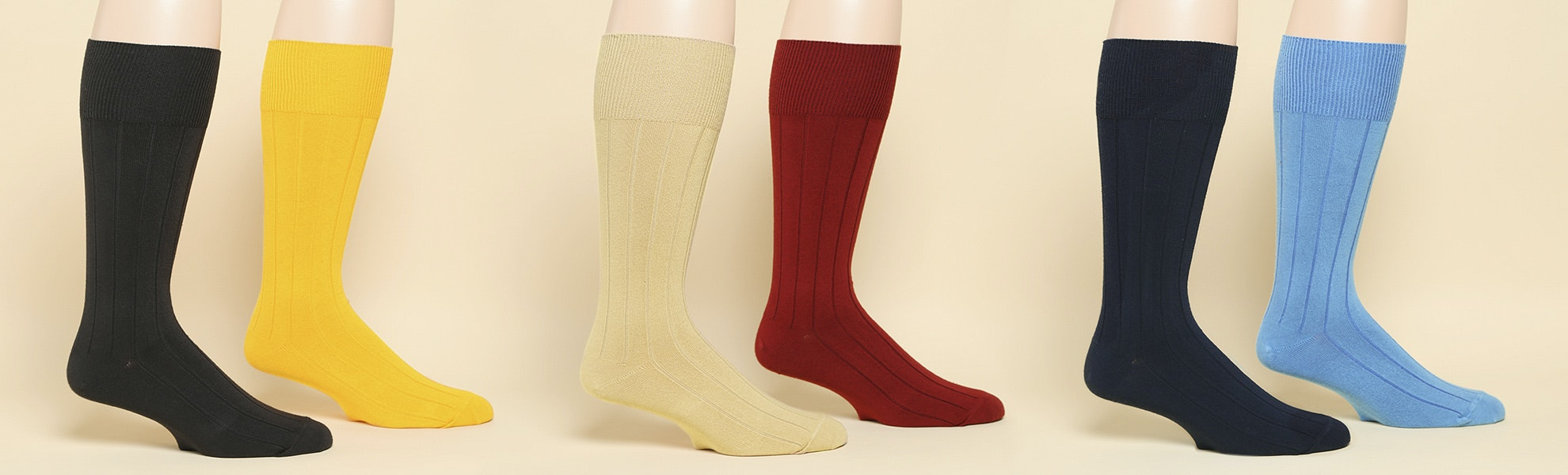 American Trench Supima Dress Rib Socks 2-pack