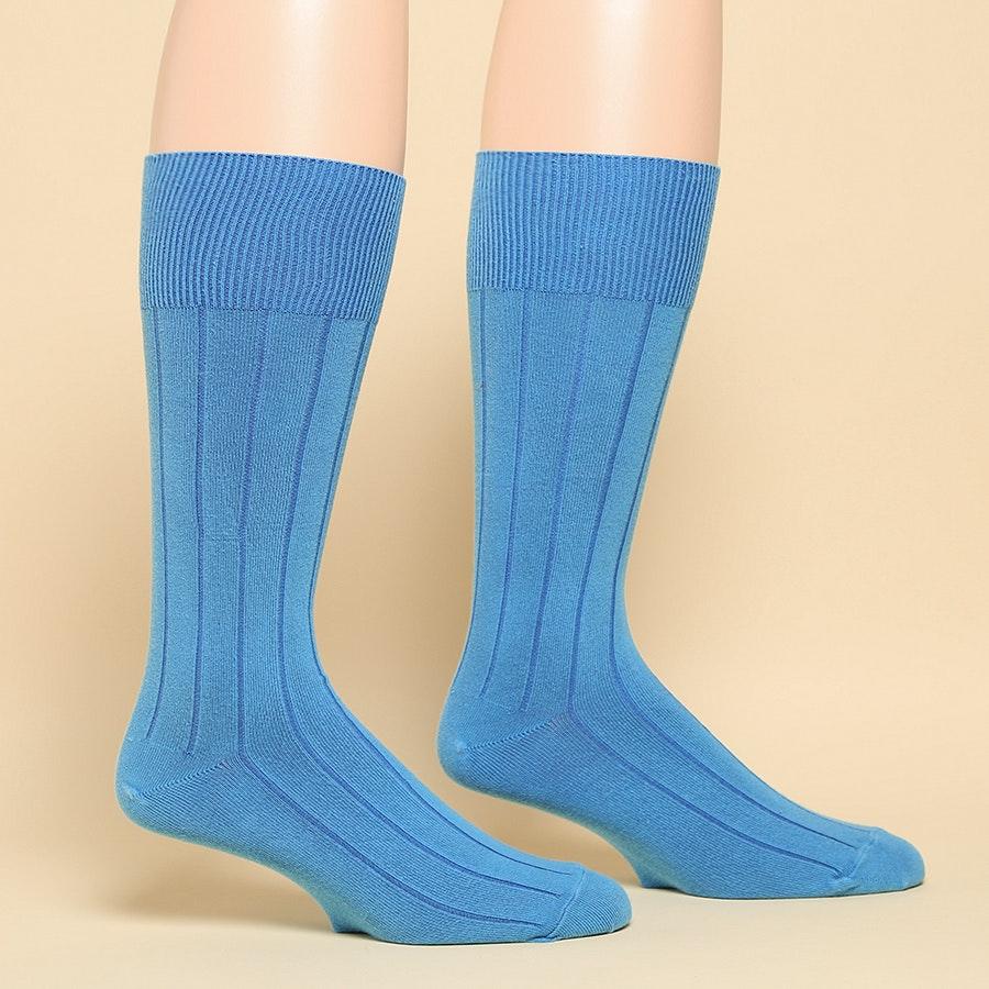 American Trench Supima Dress Rib Socks 2-pack