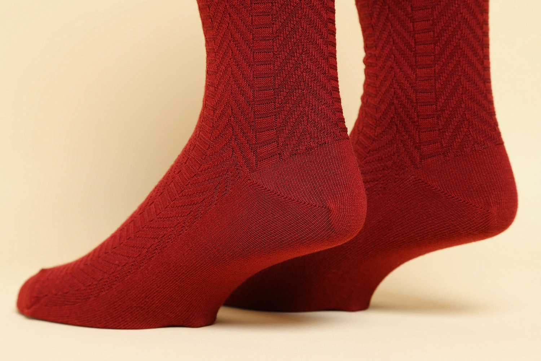 American Trench Textured Herringbone Socks (3-Pack)