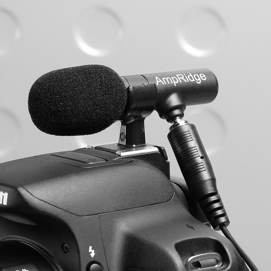 Ampridge MightyMic SLR Shotgun microphone kit