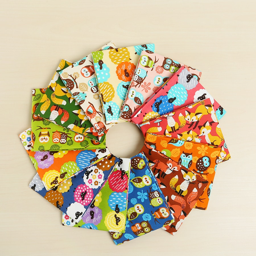 Animal Diary Fat Quarter Bundle