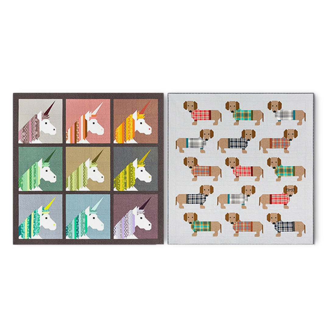 Animal Patterns by Elizabeth Hartman (2-Pack)