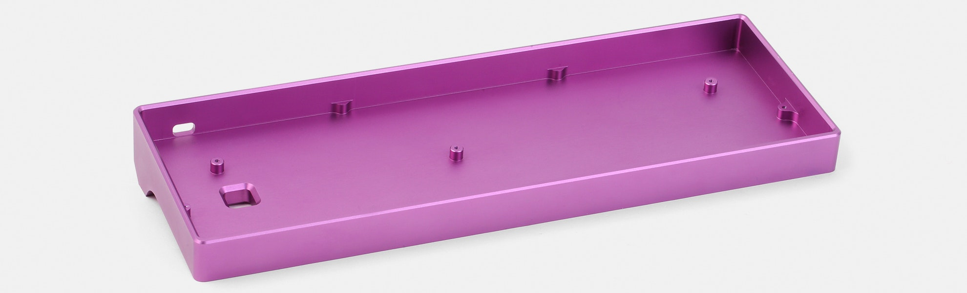 Anodized Aluminum 60% Keyboard Case – Flash Sale