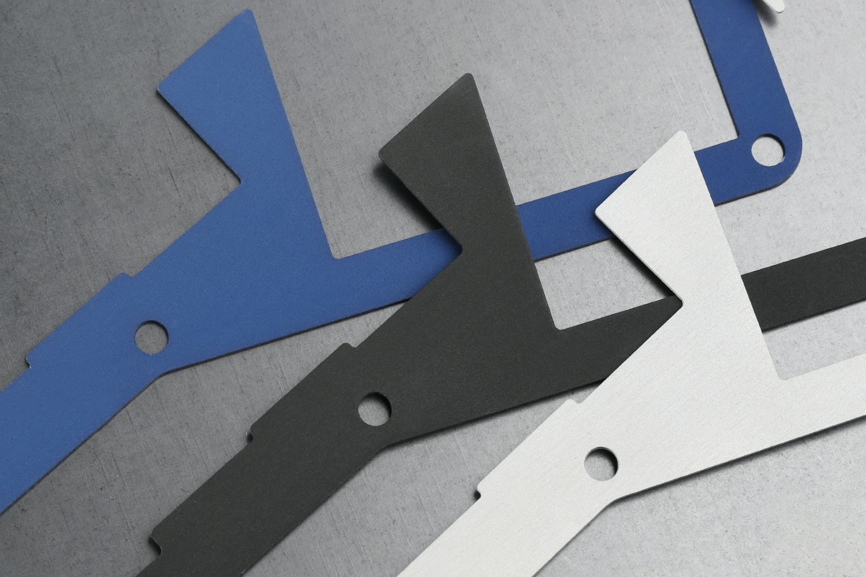 Anodized Aluminum Infinity ErgoDox Plate