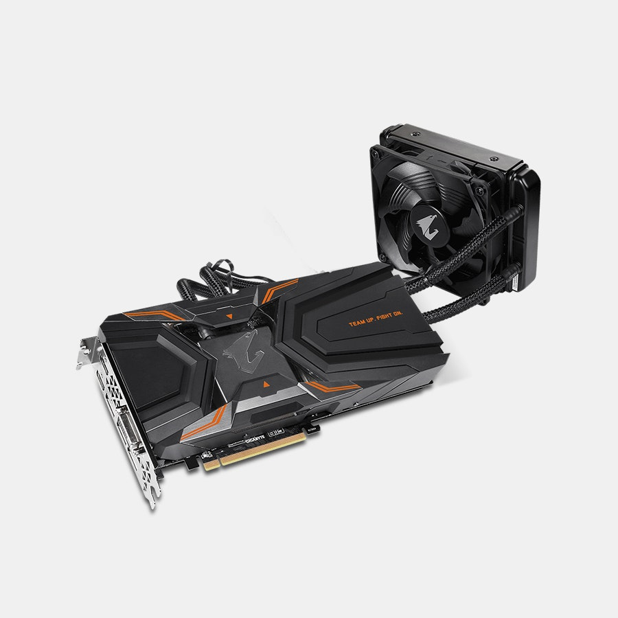 AORUS GeForce GTX 1080 Ti Waterforce Xtreme 11G