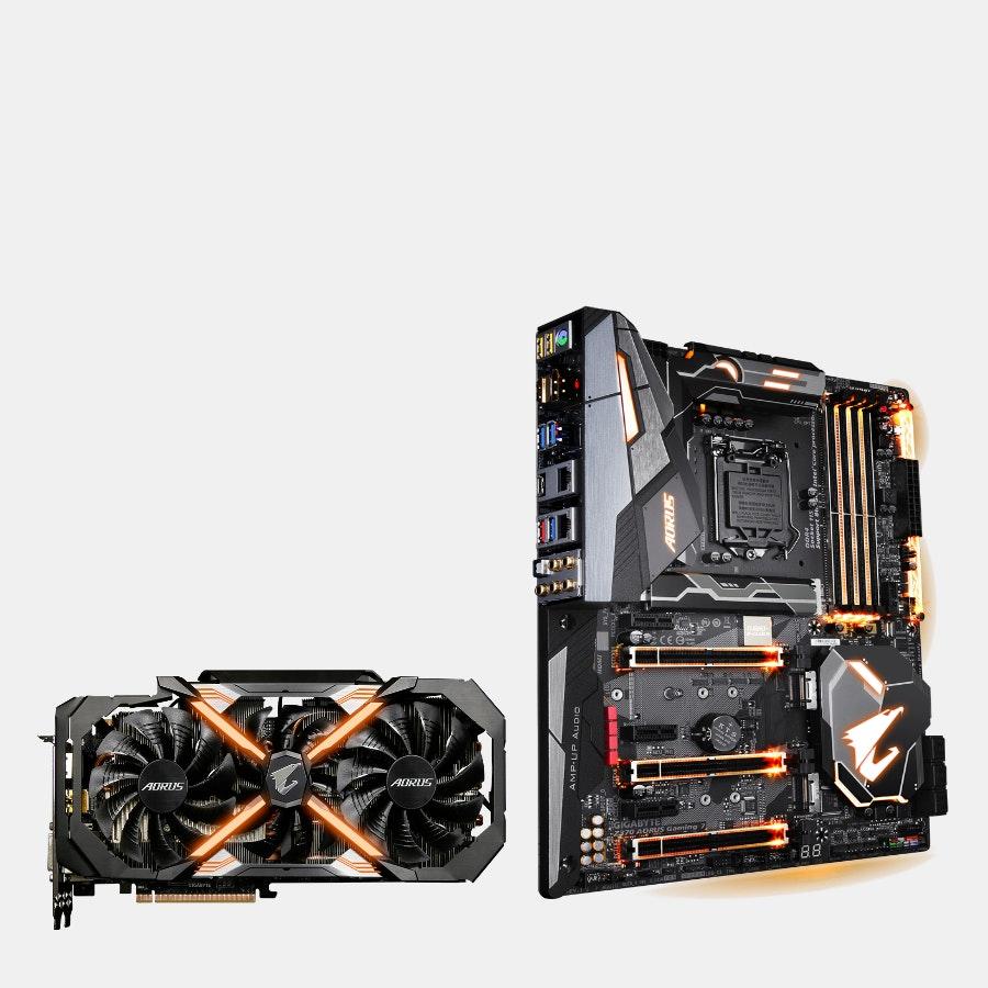 AORUS GeForce GTX 1080 Ti 11G & Motherboard Bundle