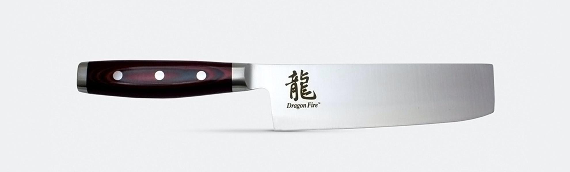 "Apogee Culinary Dragon Fire BD1N 7"" Nakiri Knife"
