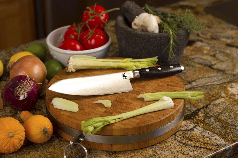 """Apogee Dragon 7.5"""" Santoku & 6.5"""" Sandwich Knives"""
