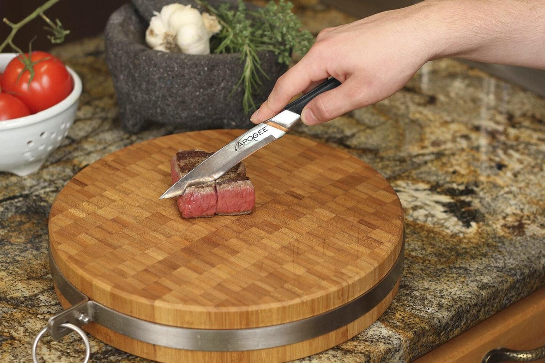 Apogee Recurve 4-Piece Steak Knife Set
