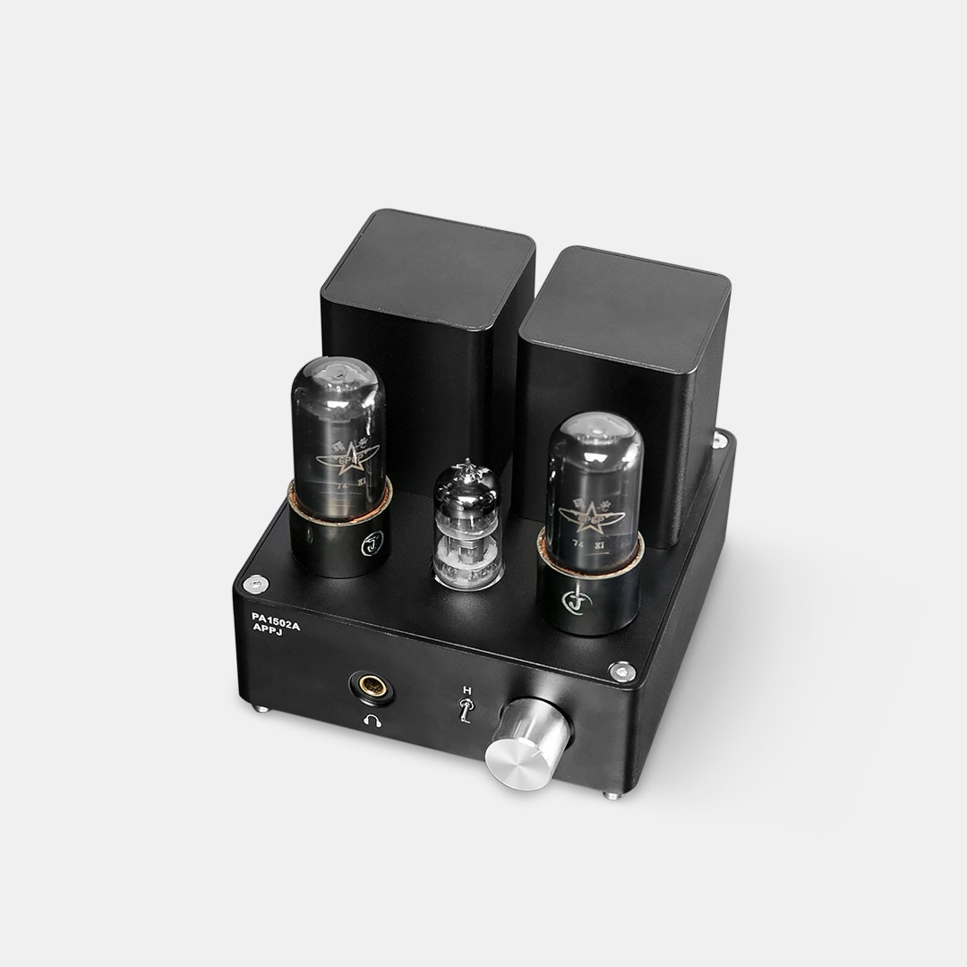 Appj 1502a Tube Headphone Amplifier Price Reviews Massdrop Class A 12au7