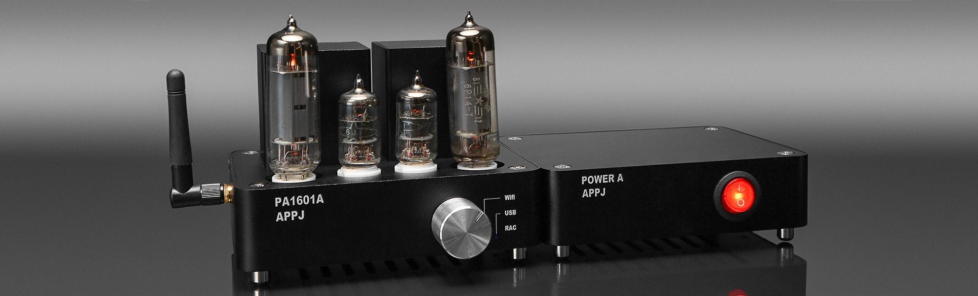 APPJ 1601A Wi-Fi Tube Amplifier