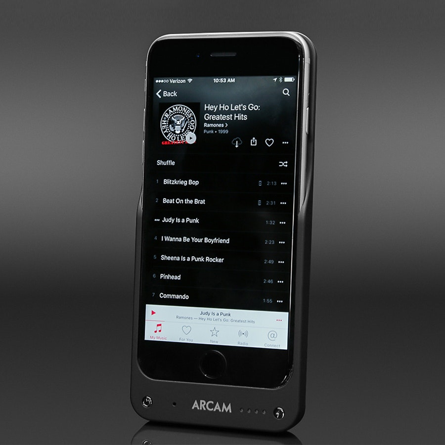Arcam MusicBoost DAC, Amp & Battery Pack for iPhone