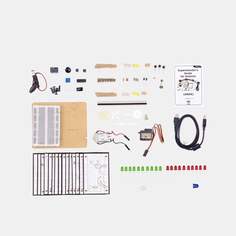 ARDX Basic Arduino Experimentation Kit
