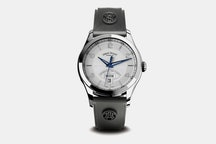 9740A-AG-G9660 | Silver Dial, Rubber Strap