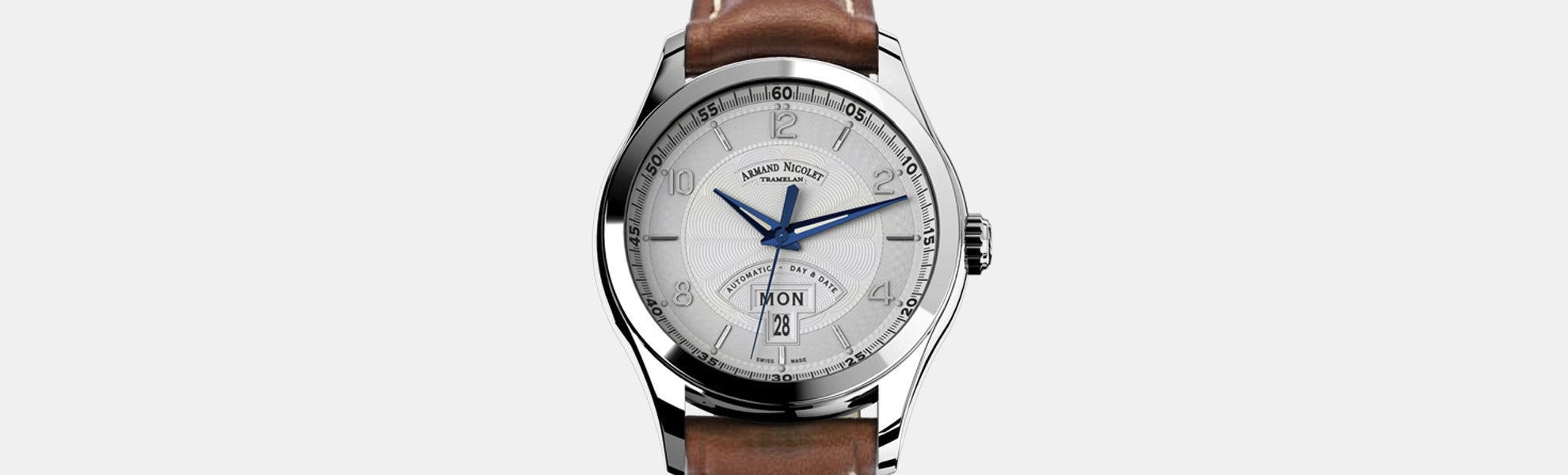 Armand Nicolet M02 Day & Date Automatic Watch