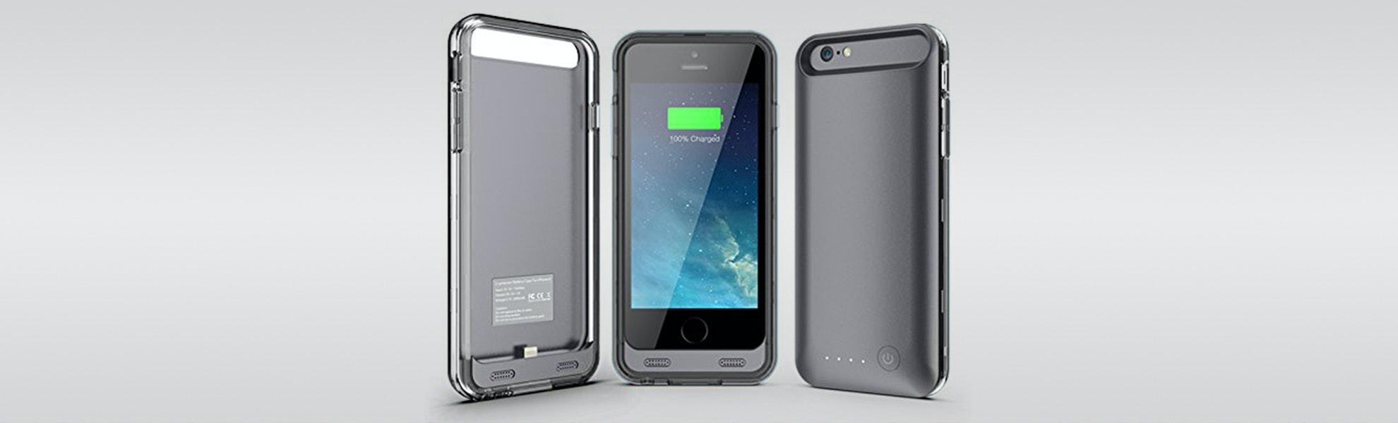 Urge Basics ArmorLite iPhone 6 Battery Case Black