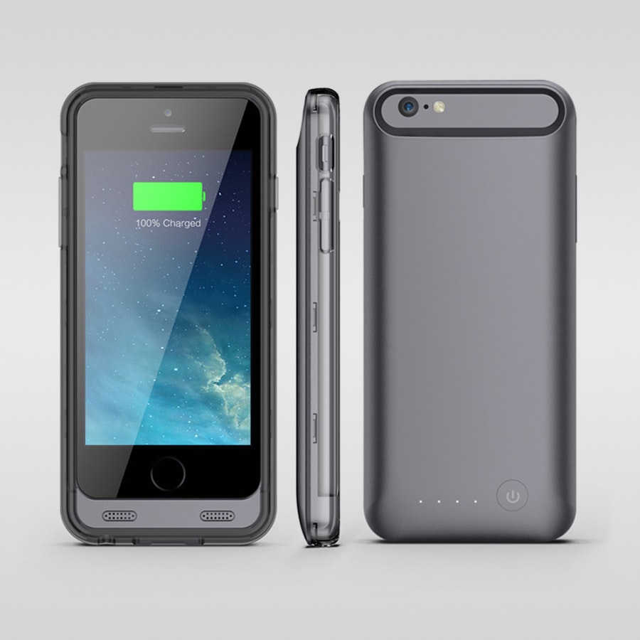 Urge Basics ArmorLite iPhone 6 Battery Case Black