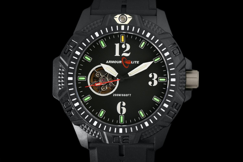 ArmourLite Caliber T25 Tritium Automatic Watch Set