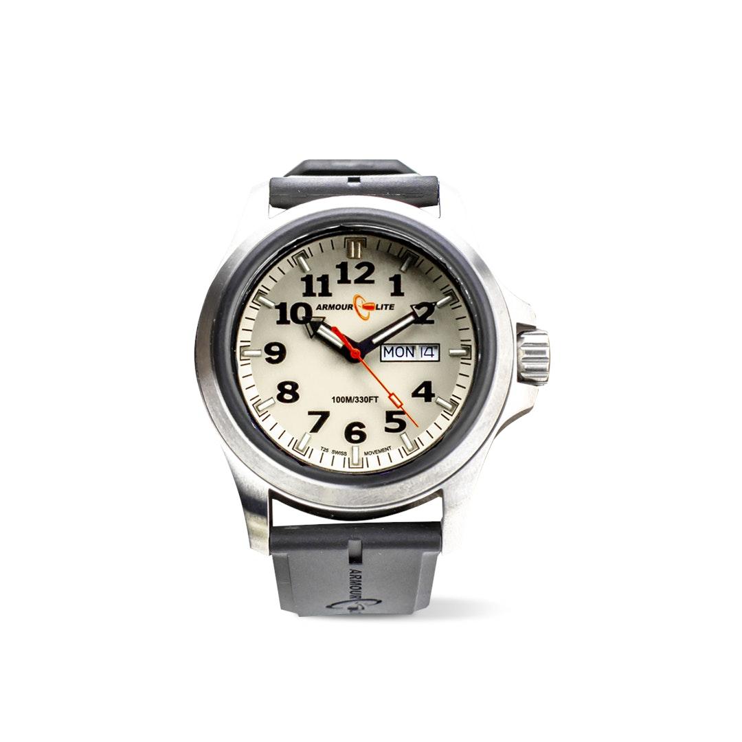 ArmourLite Cream Officer Tritium Watch Kit