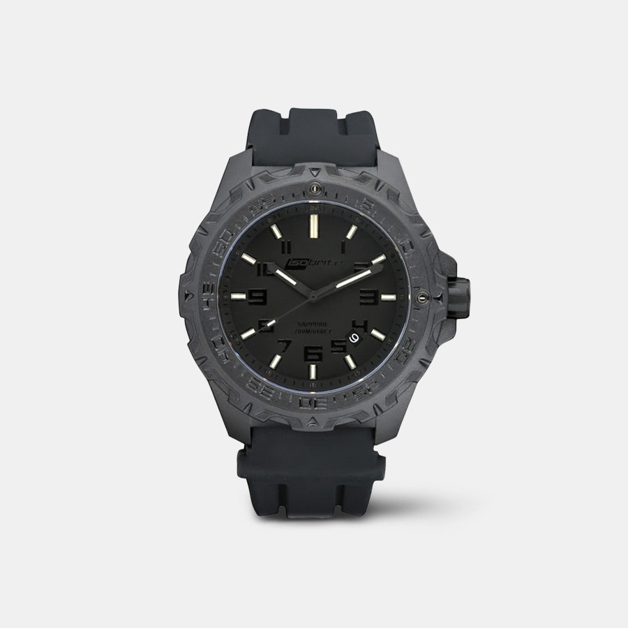 Isobrite Eclipse T100  Tritium Blackout  Watch