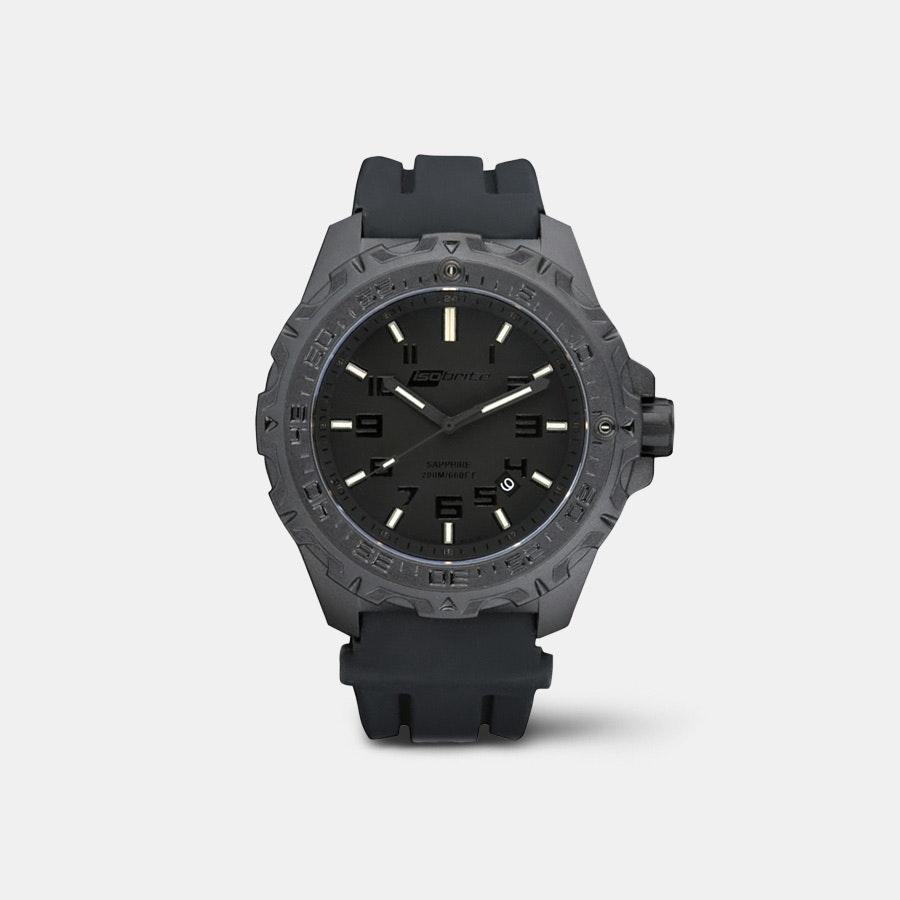 Isobrite Eclipse T100  Tritium Blackout  Watch