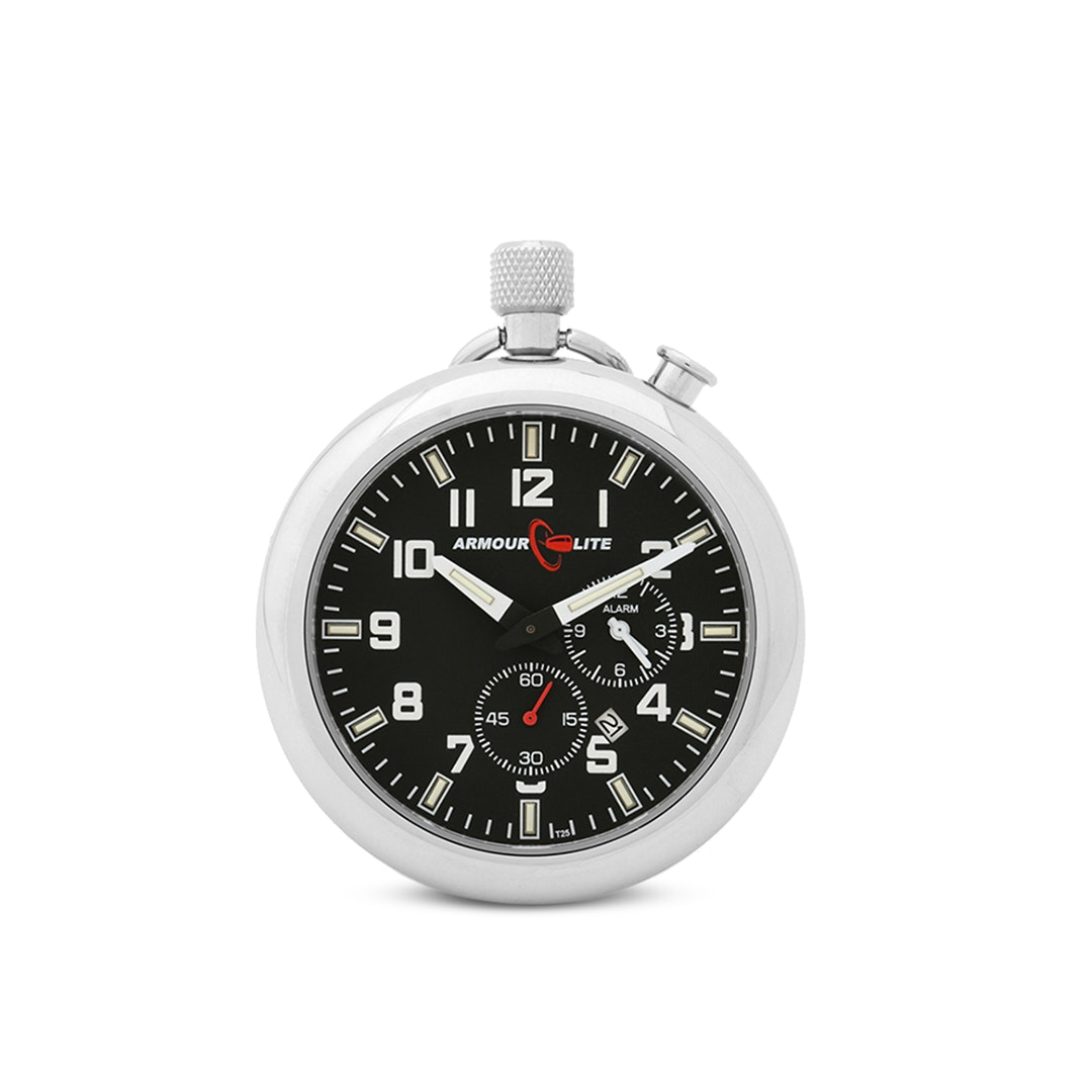 ArmourLite Tritium Pocket Watch w/ Alarm