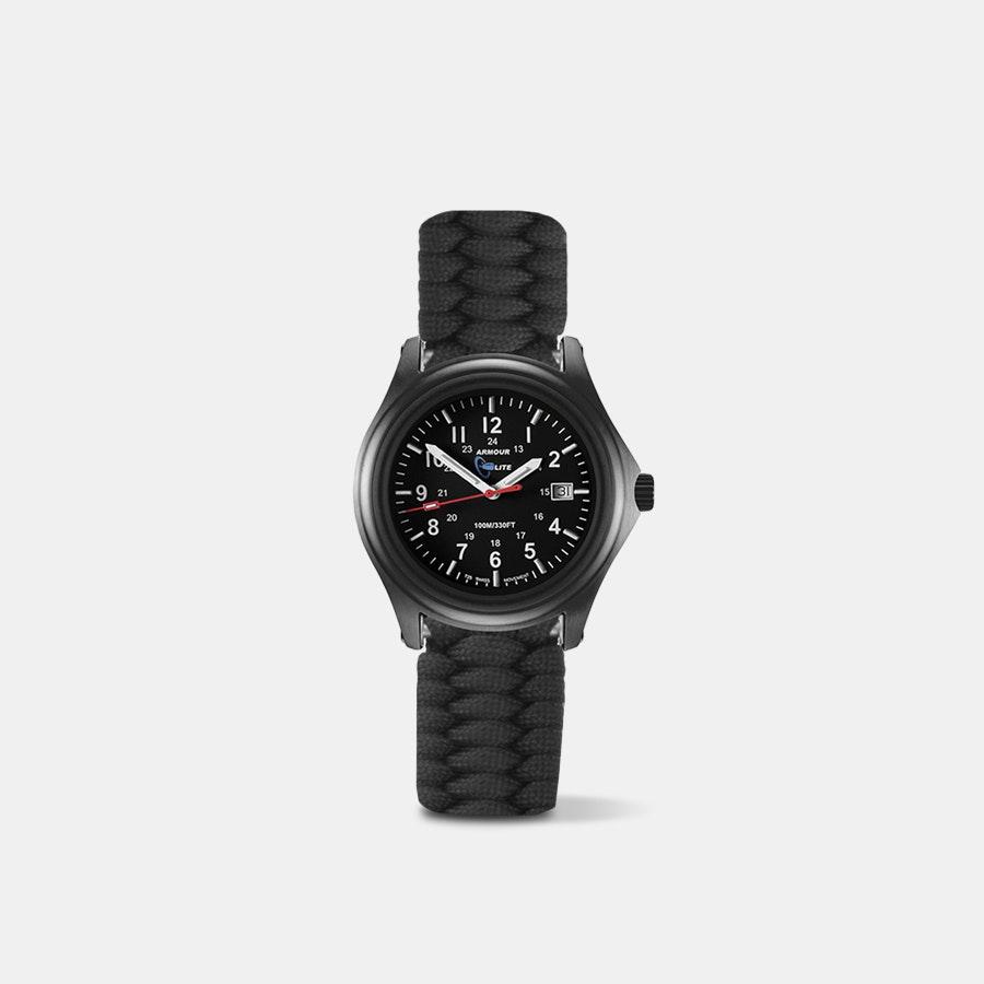 ArmourLite Shatterproof Tritium Watch w/ Paracord