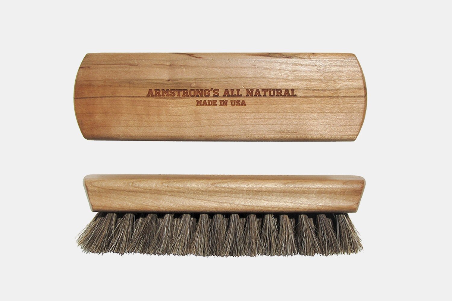 Armstrong's All Natural Shoeshine Box