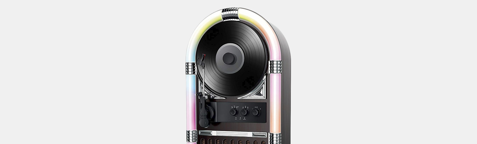 ART+SOUND Jukebox Vertical Bluetooth Record Player