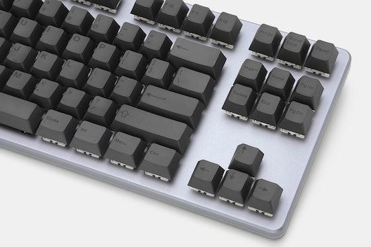 Artifact Bloom Series Keycap Set: Black on Black