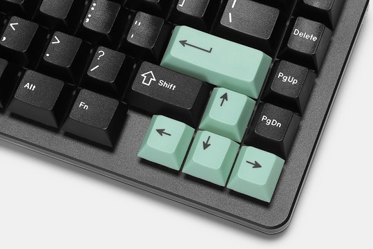 Artifact Bloom Series Keycap Set: Green Accents