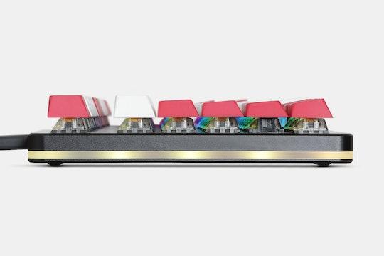 Artifact Bloom Series Keycap Set: Red Velvet