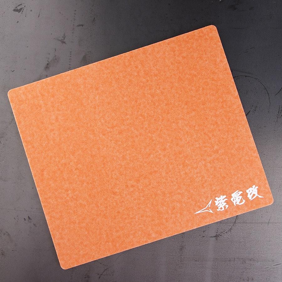 Artisan Shidenkai MID Orange Mouse Pad