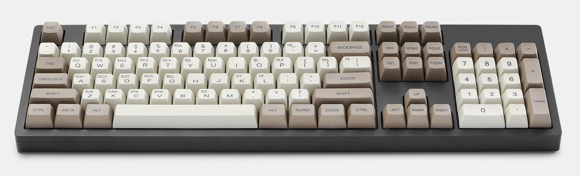 ASCII SA PBT Dye-Subbed Custom Keycap Set