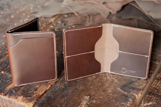 Ashland Leather Fat Herbie Wallet