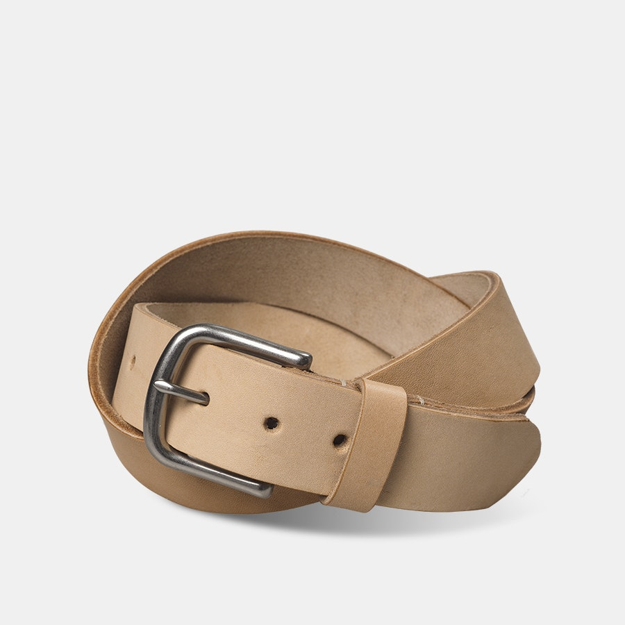 Ashland Leather Horween Natural Belt