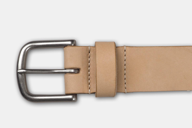 Ashland Leather Horween Natural Belt