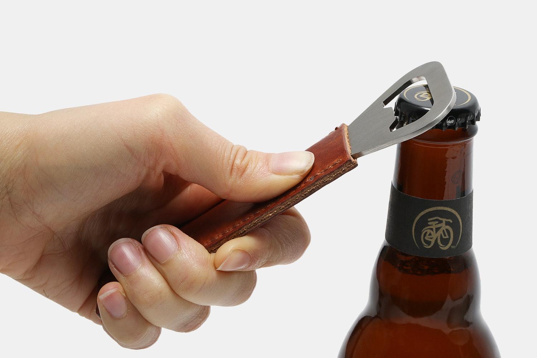 Ashland Leather Bottle Opener