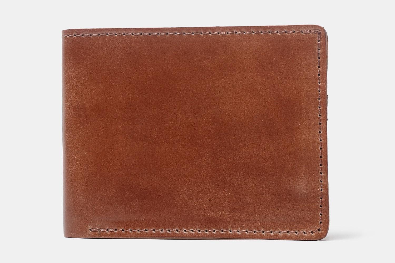 Ashland Leather Shell Cordovan Bifold Wallet