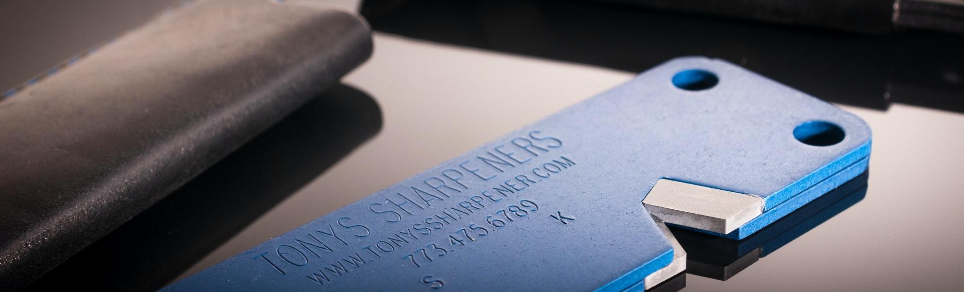 Ashland Leather Knife Sharpener