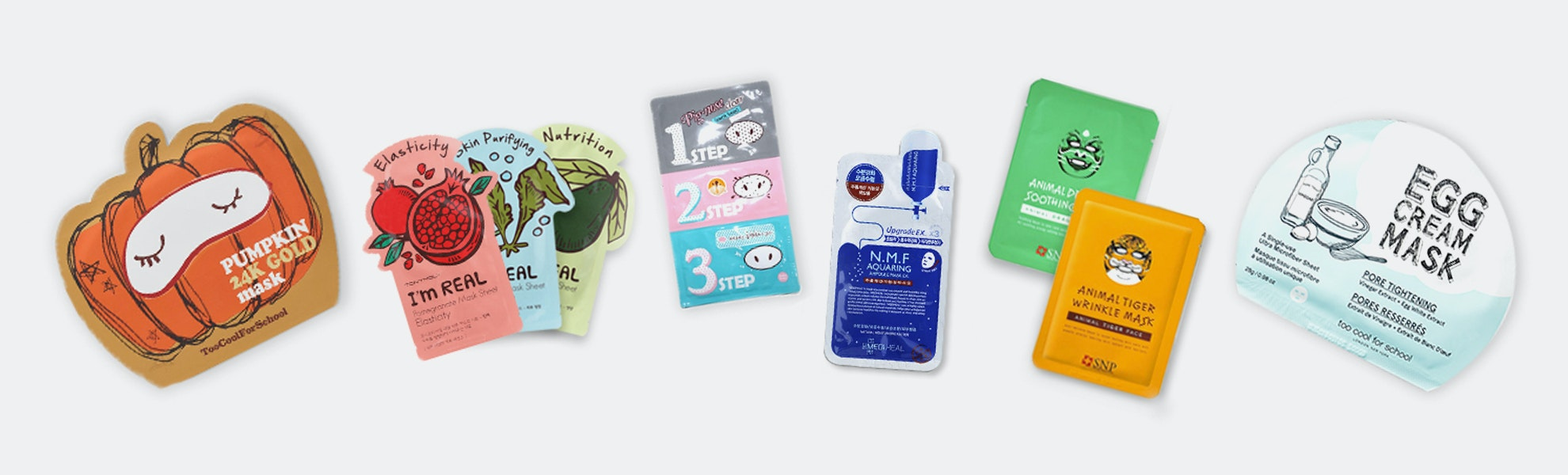 Assorted Mask Set (10-Pack)