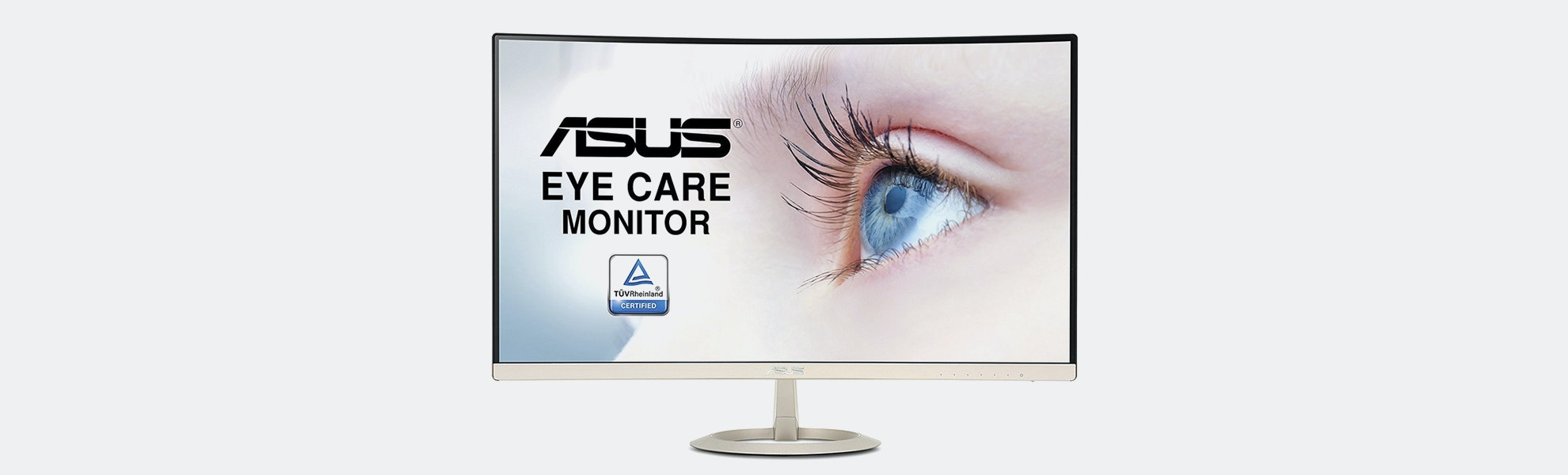 ASUS 27-Inch Curved Frameless Ultra-Thin Monitor