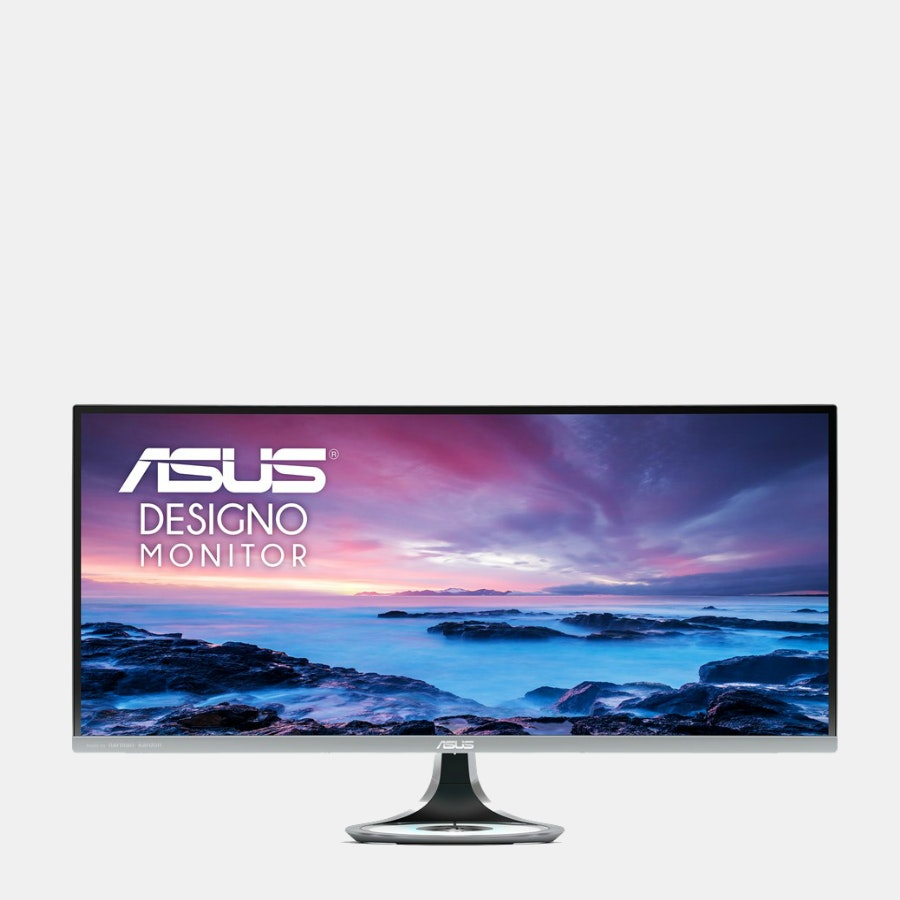 """Asus Designo Curved 34"""" UQHD 100Hz Eye Care Monitor"""