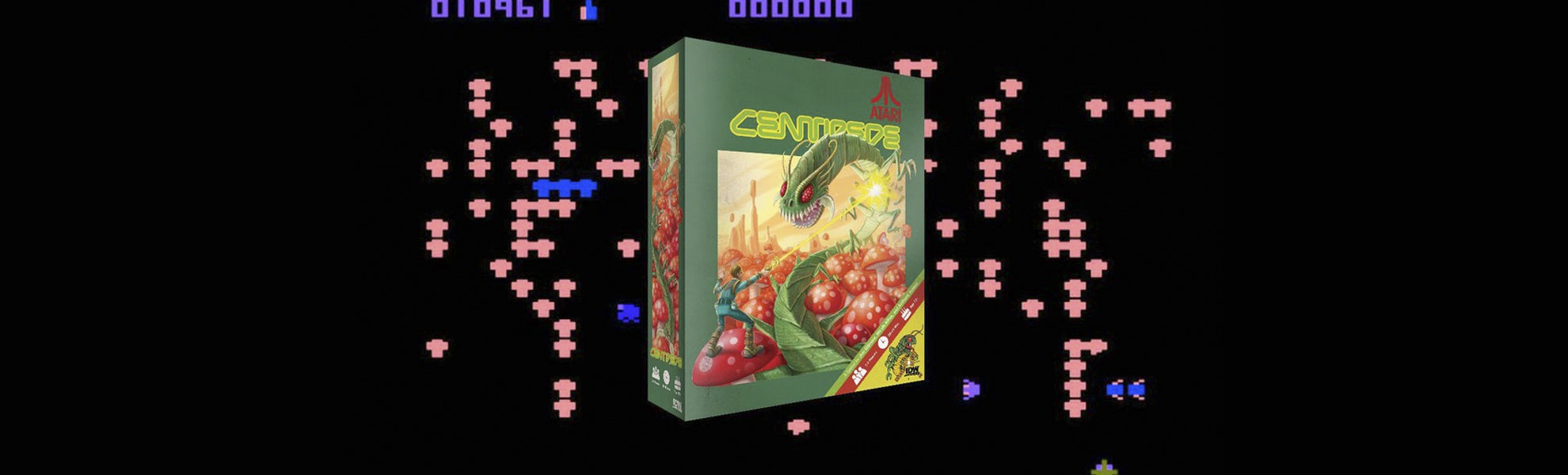 Atari Centipede Board Game