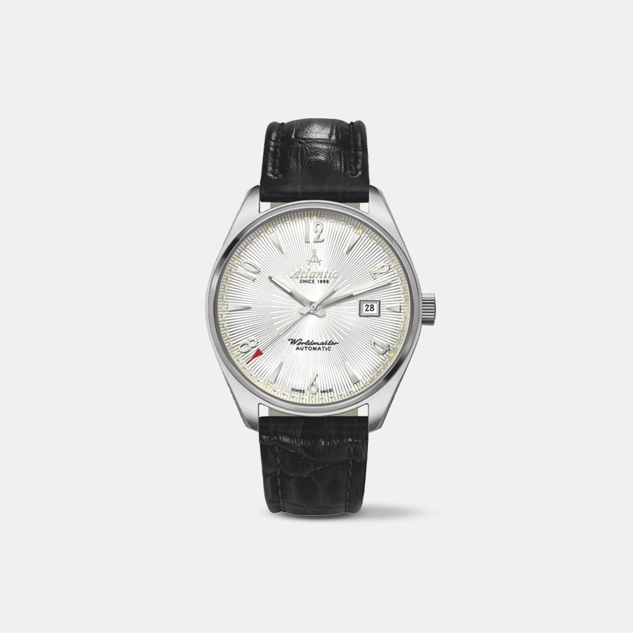 "Atlantic Worldmaster ""Art Deco"" Automatic Watch"