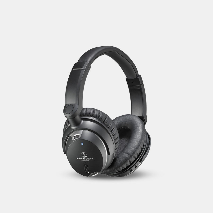Audio-Technica ATH-ANC9 Headphones With Mic
