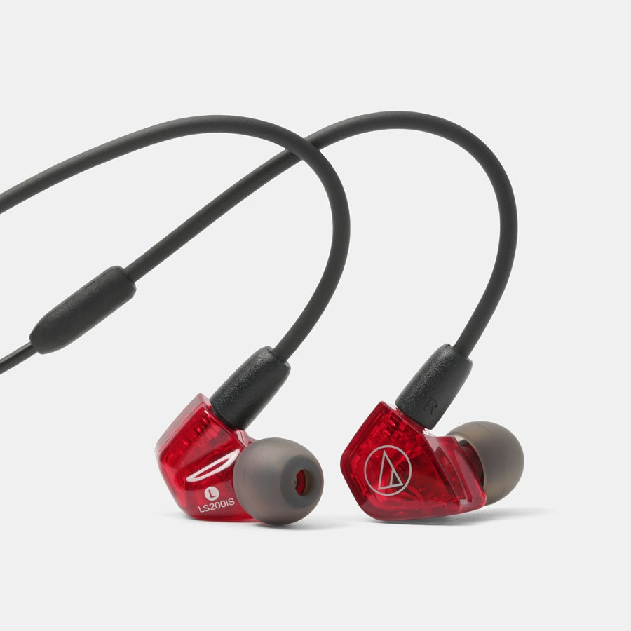 Audio-Technica ATH-LS200iS & ATH-LS400iS IEMs