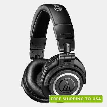 Audio-Technica M50xBT Wireless Headphones B-Stock