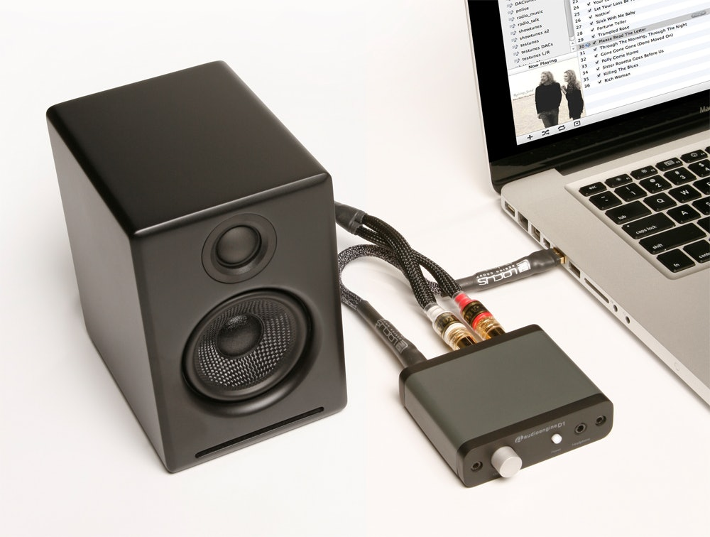Audioengine D1 DAC and Integrated Amplifier