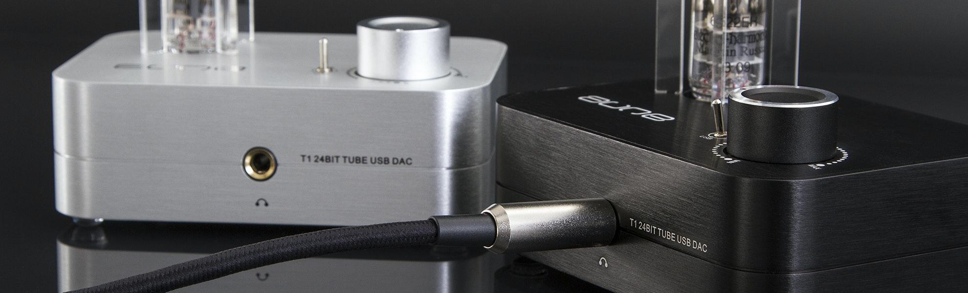 Aune T1 MK2 Headphone Tube DAC/Amp Combo